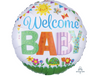 "17"" Welcome Baby Mylar Balloon"