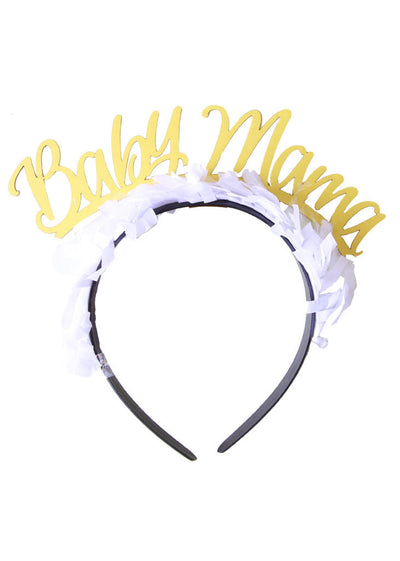 Baby Mama Headband/Crown-Multi Color