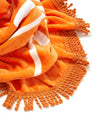 Round Beach Towel - Orange
