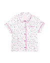 Short Sleeve Leisure Shirt - Party Dots