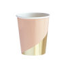 Blush Colorblock Cups