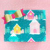 Gingerbread House Wrapping Paper Sheet