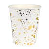Gold Splatter Cup