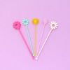 Flower Power Drink Stirrers