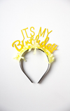 Birthday Party Up Top Headband/Crown