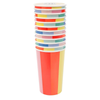 Color Wheel Highball Cup