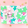Holly Berry Holiday Wrapping Paper