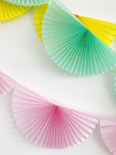 Bunting Paper Garland
