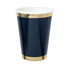 Navy Posh Cups