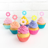 Flower Power Treat Toppers