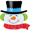 "Smilin' Snowman 36"" Balloon"