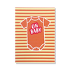 Oh Baby Onesie Card