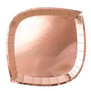 Rose Gold Posh Dinner Plate