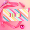 Rainbow Candy Stripe Wrapping Paper