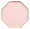Pale Pink Dinner Plates