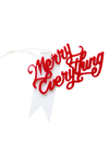 Merry Everything Gift Tag