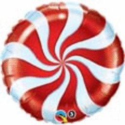 Candy Swirl Balloon 18""