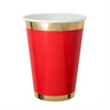 Red Posh Cups