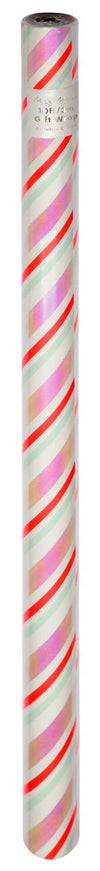 Iridescent Stripe Roll Wrap