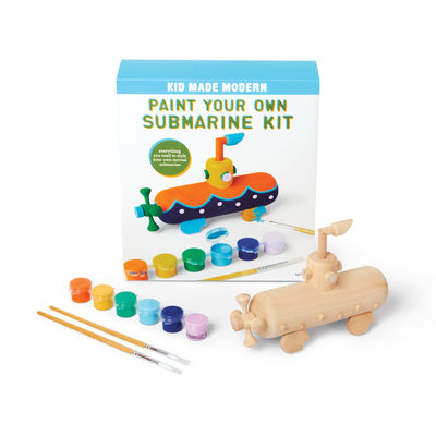 Paint Your Own Submarine Kit