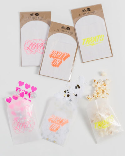 """Party On"" Favor/Treat Bags"