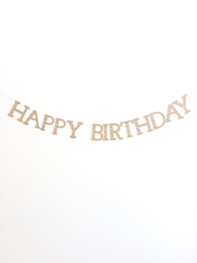 """Happy Birthday"" Banner"