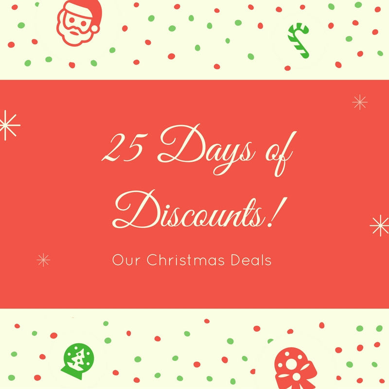 Christmas Deals - 25 Days of Discounts