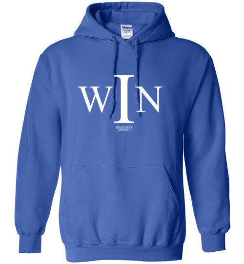 I Win, Adult Pullover Hoodie