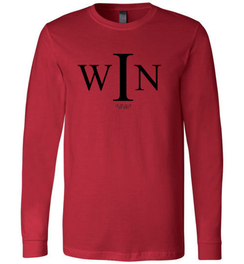 I Win, Adult Long Sleeve Shirt - STATEMENT APPAREL  - 3