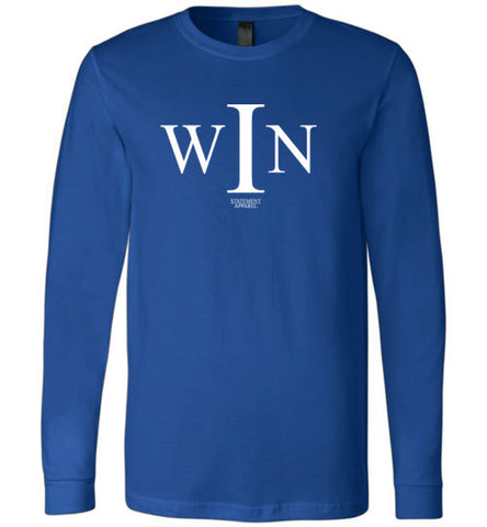 I Win, Youth Long Sleeve Shirt - STATEMENT APPAREL  - 3