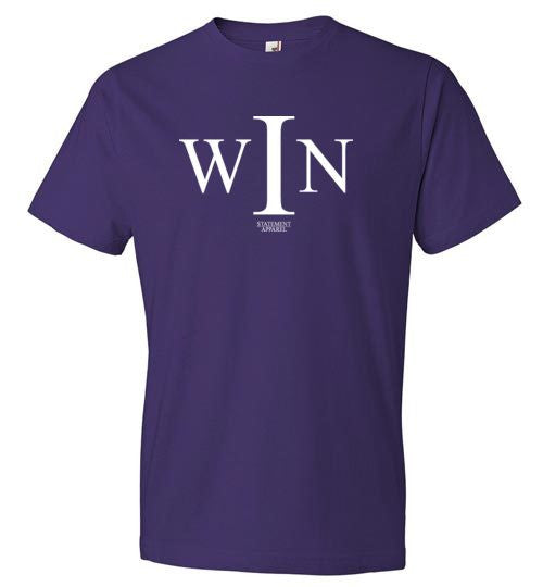I Win, Youth T-Shirt - STATEMENT APPAREL  - 4