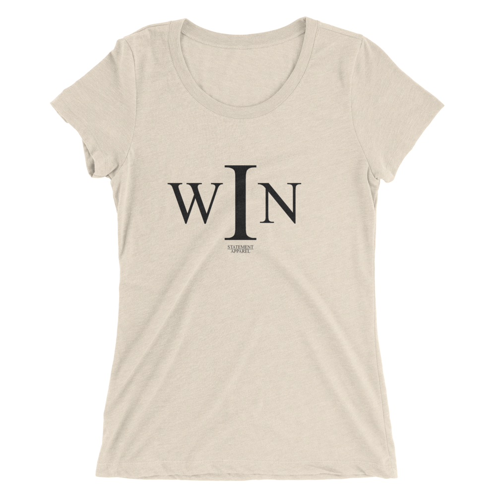 I Win, Ladies Triblend T-Shirt
