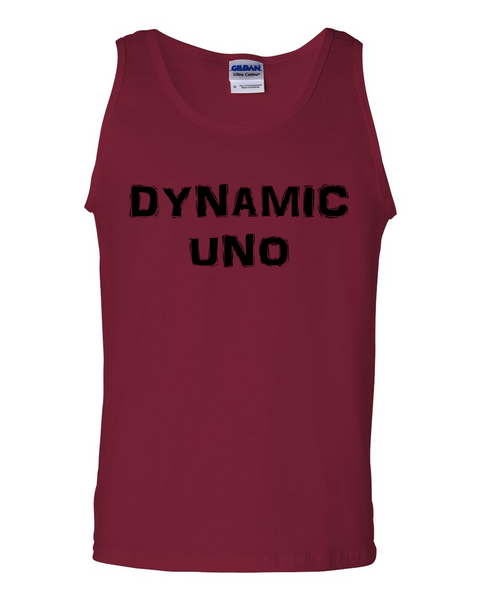 Dynamic Uno, Adult Cotton Tank Top - STATEMENT APPAREL  - 4