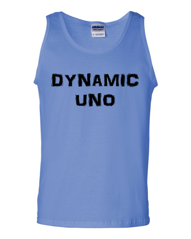 Dynamic Uno, Adult Cotton Tank Top - STATEMENT APPAREL  - 1
