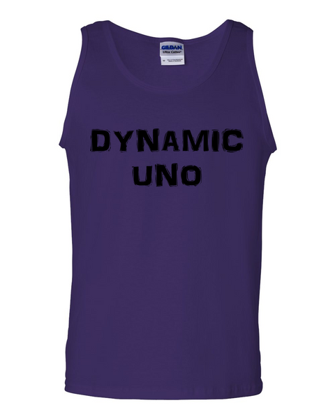 Dynamic Uno, Adult Cotton Tank Top - STATEMENT APPAREL  - 5