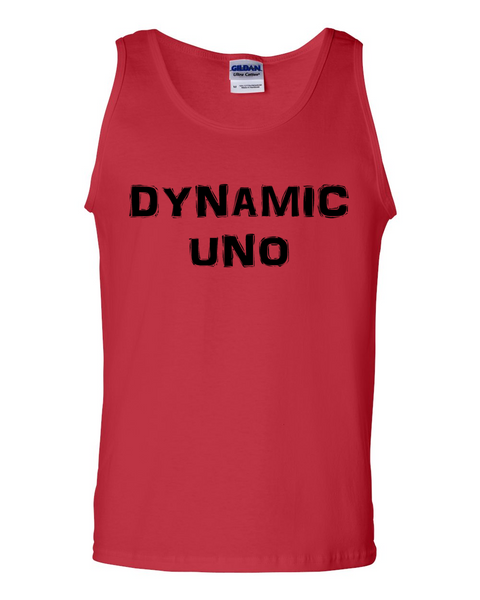 Dynamic Uno, Adult Cotton Tank Top - STATEMENT APPAREL  - 2
