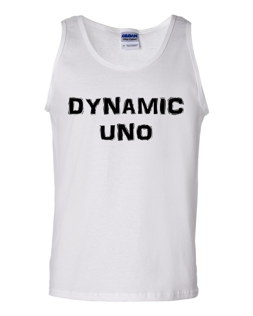 Dynamic Uno, Adult Cotton Tank Top - STATEMENT APPAREL  - 3