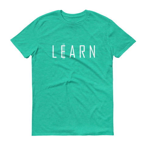 Learn To Earn, Adult T-Shirt