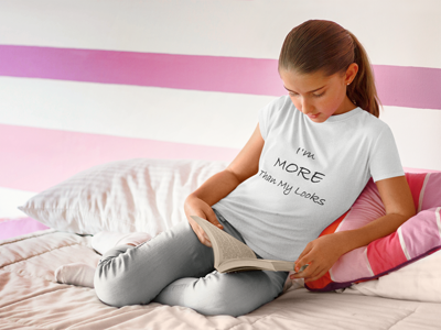 I'm MORE Than My Looks, Girls T-Shirt - STATEMENT APPAREL