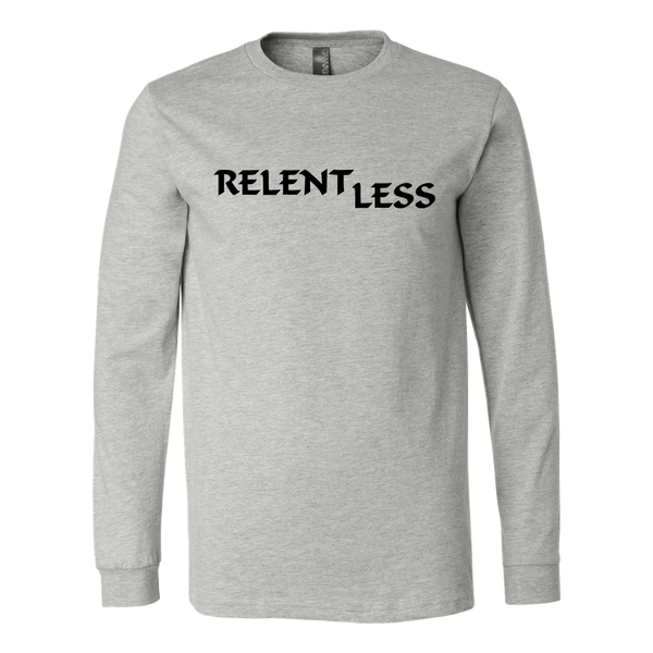 Relent Less, Adult Long Sleeve Shirt - STATEMENT APPAREL  - 3