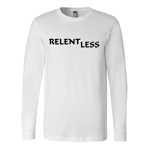 Relent Less, Adult Long Sleeve Shirt - STATEMENT APPAREL  - 5