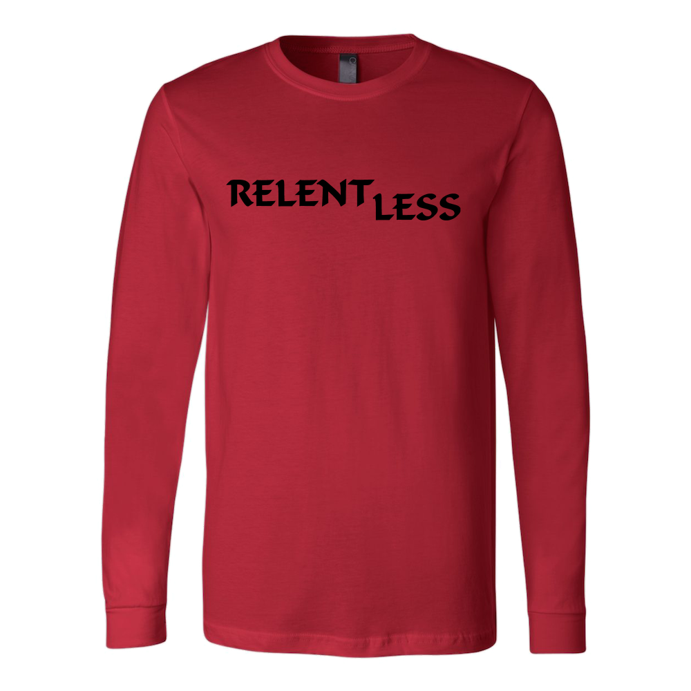 Relent Less, Adult Long Sleeve Shirt - STATEMENT APPAREL  - 1