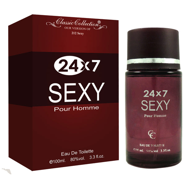 24X7 Sexy Pour Homme