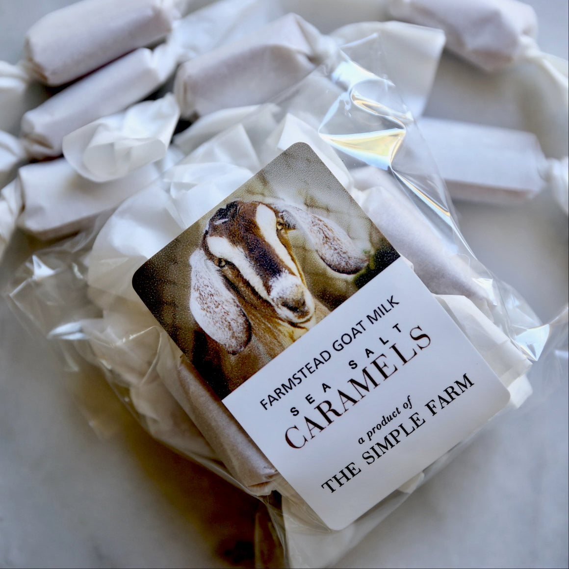 Sea Salt Goat Milk Caramels - Last Ship Day for Month of September is Saturday the 14th. Shop will be closed until September 28th for vacation.