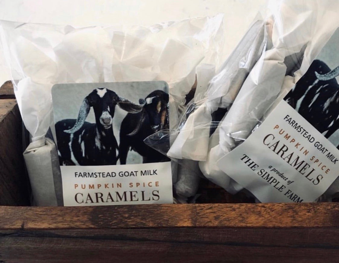 Seasonal Pumpkin Spice Caramels