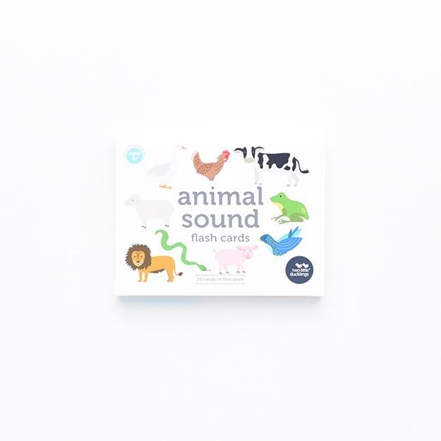 Animal Sound Flash Cards - Play>Educational Toys