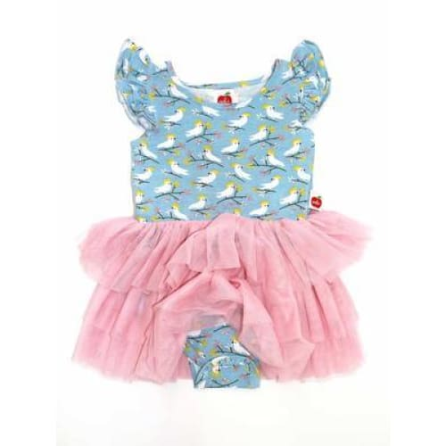 Ariel Cockatoo Jersey Tutu Romper - Wear>Kids>Girls