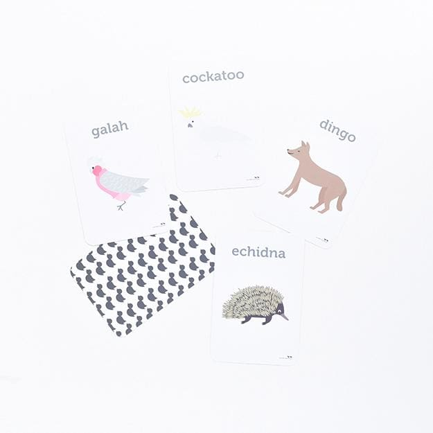 Aussie Animals Flash Cards - Play>Educational Toys