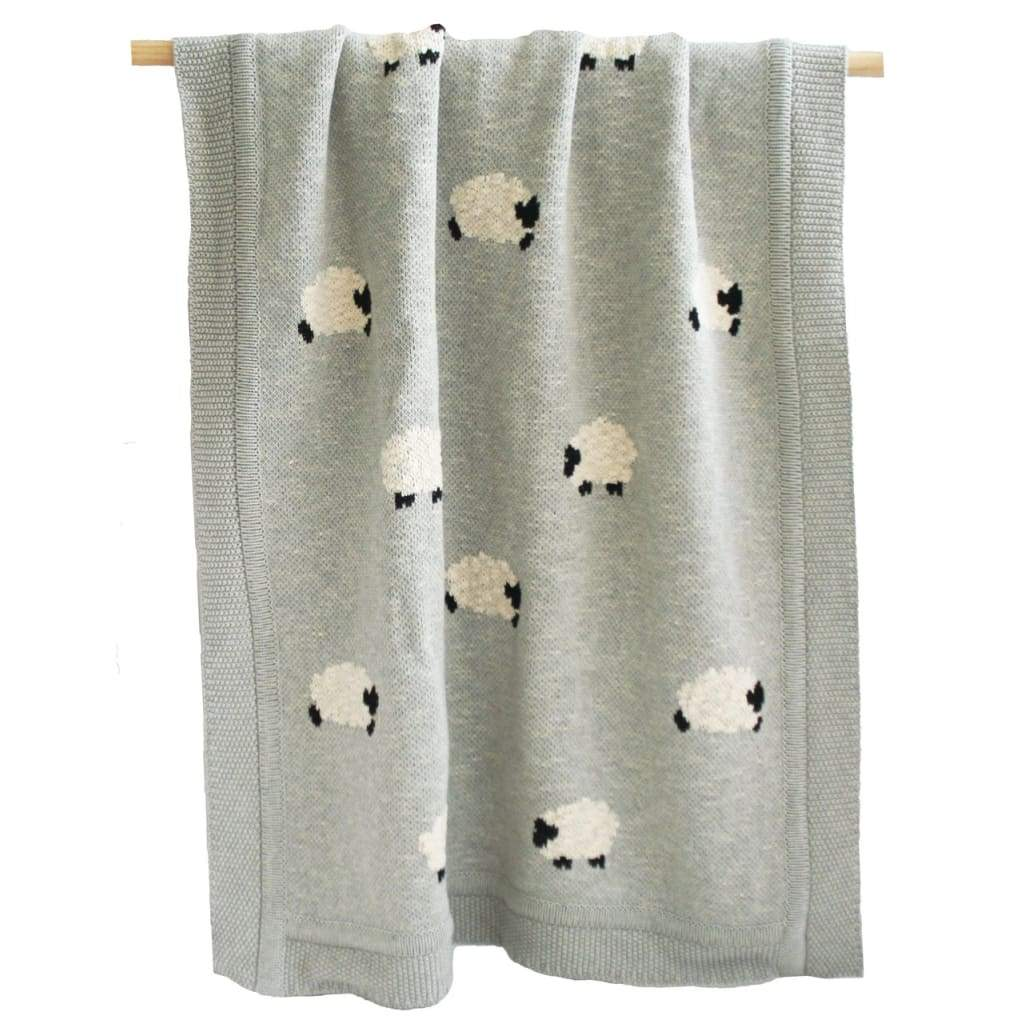 Baa Baa Blanket - Grey - Sleep>Blankets