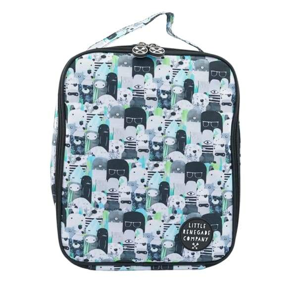 Bears and beasties Insulated Lunch Bag - General